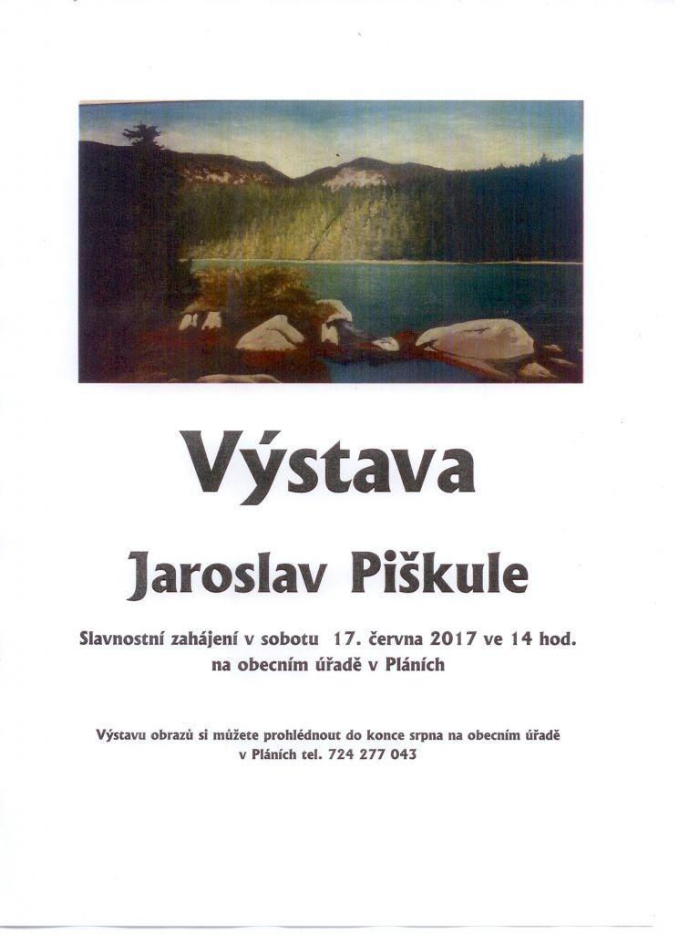 Výstava Jaroslav Piškule