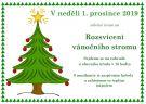 Rozsvěcení vánočního stromu 1