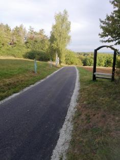 Silnice Vrážné - Ondřejov