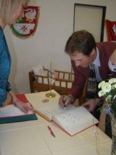 Podpis dokroniky