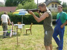2010-myslivci Pláně - střelby zevzduchovky