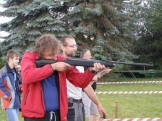 Pláňská pouť 2015- Střelba zevzduchovky